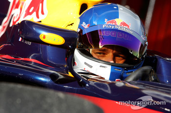 Sébastien Loeb, Test Driver, Red Bull Racing