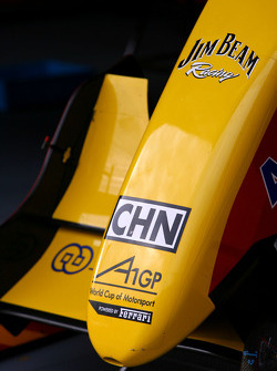 A1 Team Chine front wing