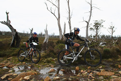 Launceston, Australia: Team Red Bull in action