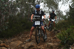 Launceston, Australia: Richard Palmer of Team Telstra in action