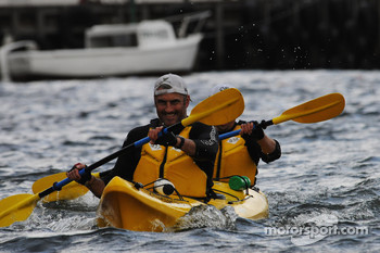 Port Arthur, Australia: kayaking action