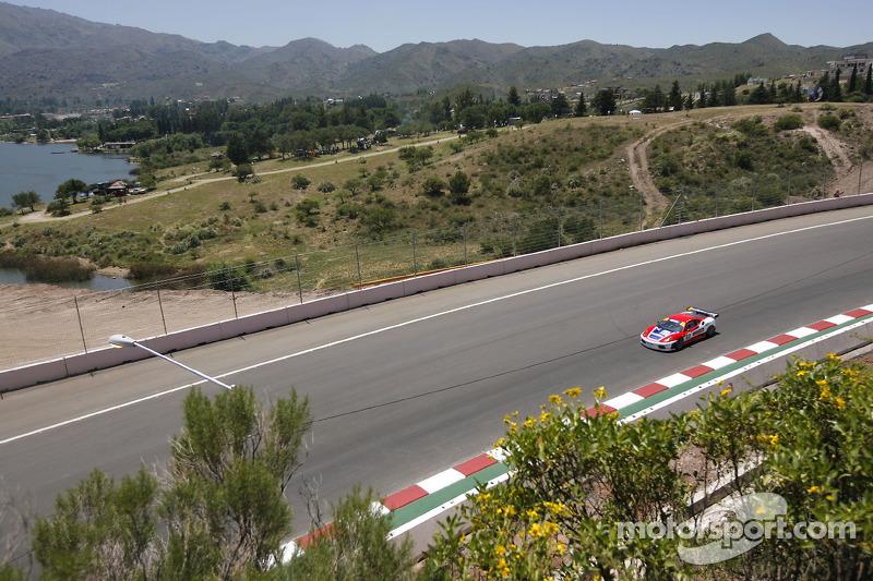 #62 Scuderia Ecosse Ferrari F430: Fabio Babini, Jamie Davies