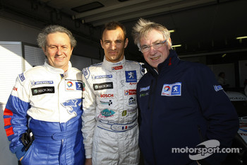 Stéphane Sarrazin with Michel Barge