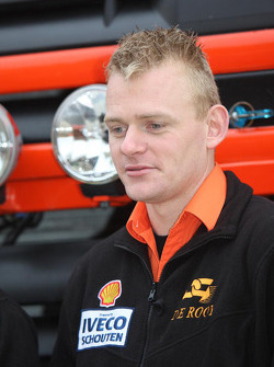 Team de Rooy: Gerard de Rooy, driver rally truck #505