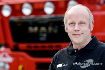 MAN Rally Team: Harry Schuurmans, service truck 1