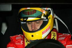 500 Abarth Assetto Corse, Luca Badoer, Test Driver Scuderia Ferrari