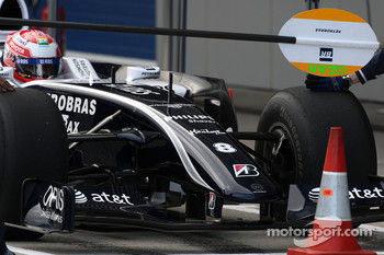 Kazuki Nakajima, Williams F1 Team, interim 2009 car