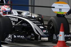 Kazuki Nakajima, Williams F1 Team, interim 2009 car