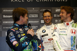 Carl Edwards, Andy Priaulx and Jenson Button
