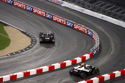 Quarter final, race 5: David Coulthard vs Jaime Alguersuari