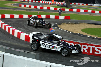Semi final, race 5: Tom Kristensen vs Andy Priaulx