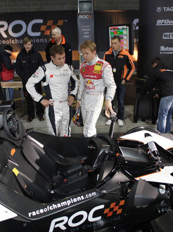 Tom Kristensen and Mattias Ekström