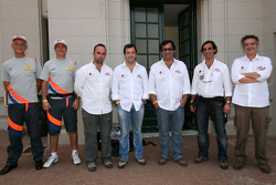 Red Line team drivers: Francisco Inocencio, Paulo Fiuza, Nuno Pedro Inocencio and Jaime Santos