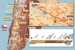 Stage 4: 2009-01-06, Jacobacci to Neuquen