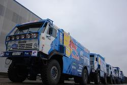Team Kamaz Master: Kamaz 4326 trucks