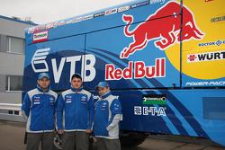 Team Kamaz Master: #508 Kamaz 4326, Ilgizar Mardeev, Viatcheslav Mizyukaev and Ayrat Mardeev