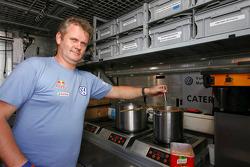 Volkswagen Motorsport chef at work