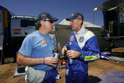 Carlos Sainz and Ralph Pitchford