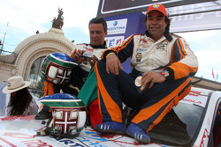 Car category podium: Francisco Pita and Humberto Goncalves