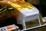 Front wing detail of the new Renault R29