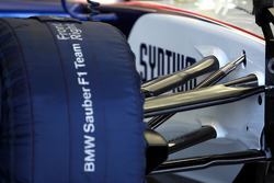 Technical detail, front suspension, Robert Kubica, BMW Sauber F1 Team