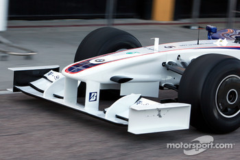 Technical detail, front wing, nose, Robert Kubica, BMW Sauber F1 Team
