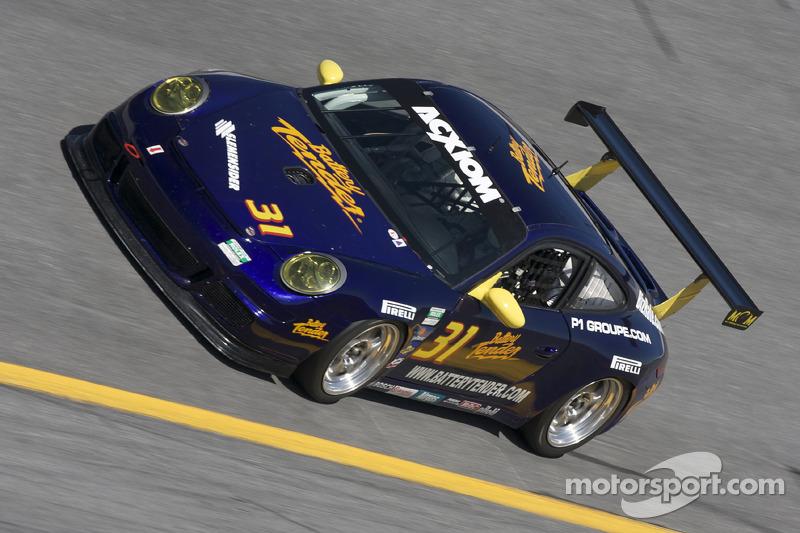 #31 Battery Tender MCM Racing Porsche GT3: Romeo Kapudija, Bob Michaelian, Jim Michaelian, Pepe Montano