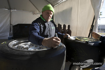 Krohn Racing team member at work
