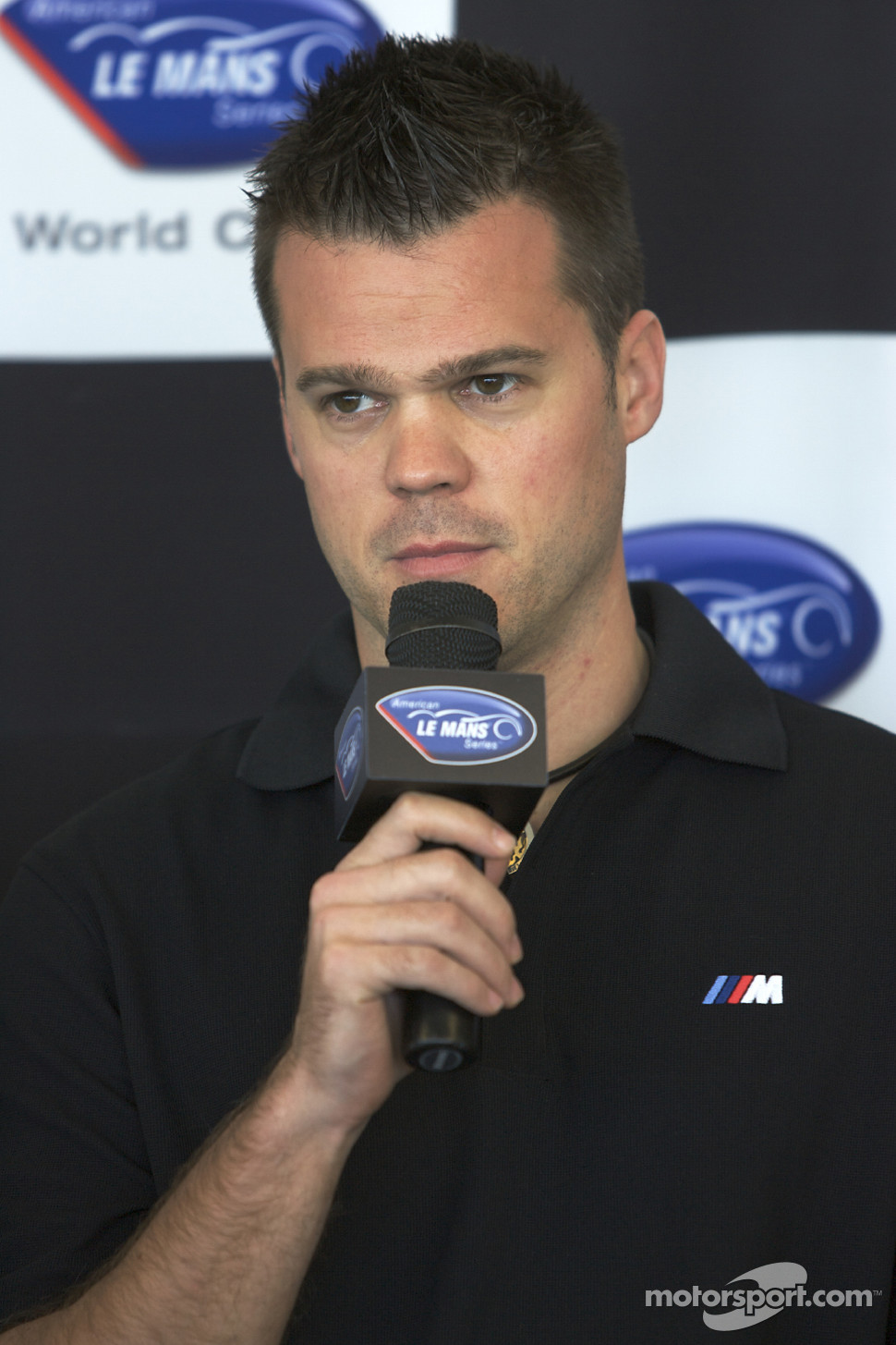 BMW Rahal Letternan press conference: Dirk Muller