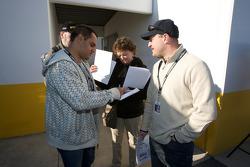Juan Pablo Montoya and Tomas Enge