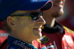 Pole victory lane: second fastest qualifier Mark Martin, Hendrick Motorsports Chevrolet