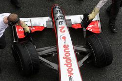 Heikki Kovalainen, McLaren Mercedes, MP4-24, detail