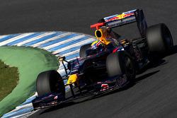 Mark Webber, Red Bull Racing, RB5- Formula 1 Testing, Jerez