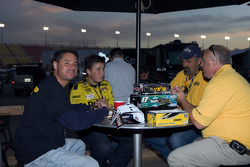 DeWalt RV party at the Auto Club Speedway