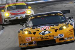 #28 LG Motorsports Chevrolet Riley Corvette C6: Lou Gigliotti, Eric Curan, Lucas Molo