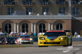 #3 Corvette Racing Chevrolet Corvette C6-R: Johnny O'Connell, Jan Magnussen, Antonio Garcia