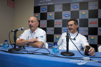 BMW Rahal Letterman Racing Team press conference: Bobby Rahal and Dr. Mario Theissen