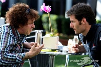 Leo Sayer, Music Artist, Mark Webber, Red Bull Racing