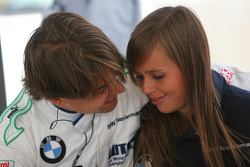 Augusto Farfus, BMW Team Germany with his wife Liri
