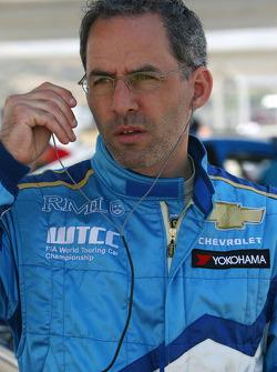 Alain Menu, Chevrolet