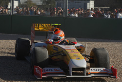 Nelson A. Piquet, Renault F1 Team retires from the race