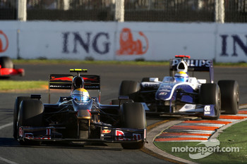 Sebastien Buemi, Scuderia Toro Rosso, Nico Rosberg, Williams F1 Team, FW31