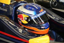 Daniel Ricciardo's helmet
