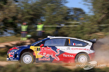 Sbastien Loeb and Daniel Elena, Citroen C4, Citroen Total World Rally Team