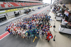 Le Mans Series 2009 drivers group photo