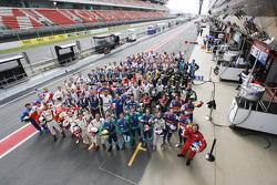 Le Mans Series 2009 drivers group photo