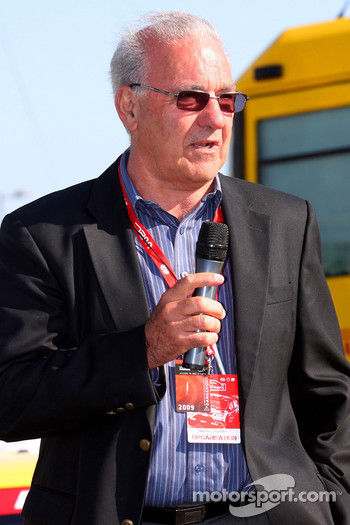 Morrie Chandler, President of FIA World Rally Championship Commission