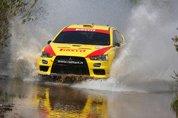 Martin Semerad and Bohuslav Ceplecha, Mitsubishi Evo X, Pirelli Star Driver