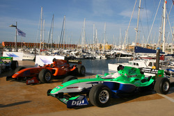 Speed demo in Portimao: A1GP cars