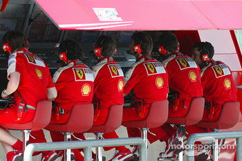 Ferrari pitwall